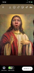 Pascal als Jesus