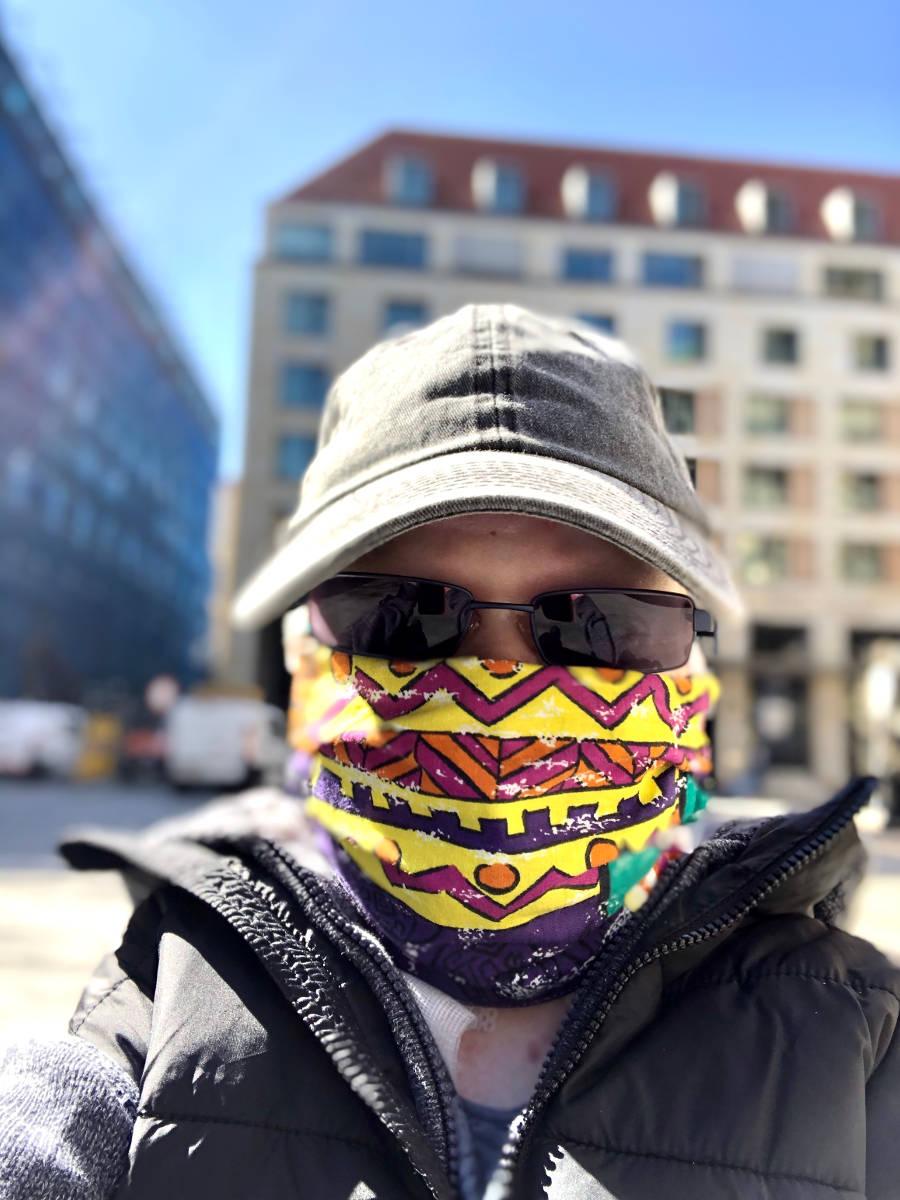 Pascal mit Maske